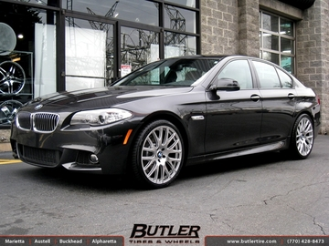 BMW 5 Series with 20in TSW Mugello Wheels
