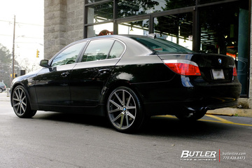 BMW 5 Series with 20in TSW Rouge Wheels
