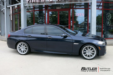 BMW 5 Series with 20in TSW Sebring Wheels