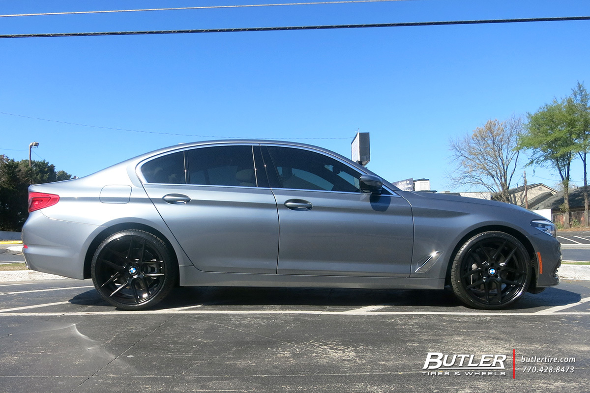 BMW 5 Series with 20in TSW Tabac Wheels