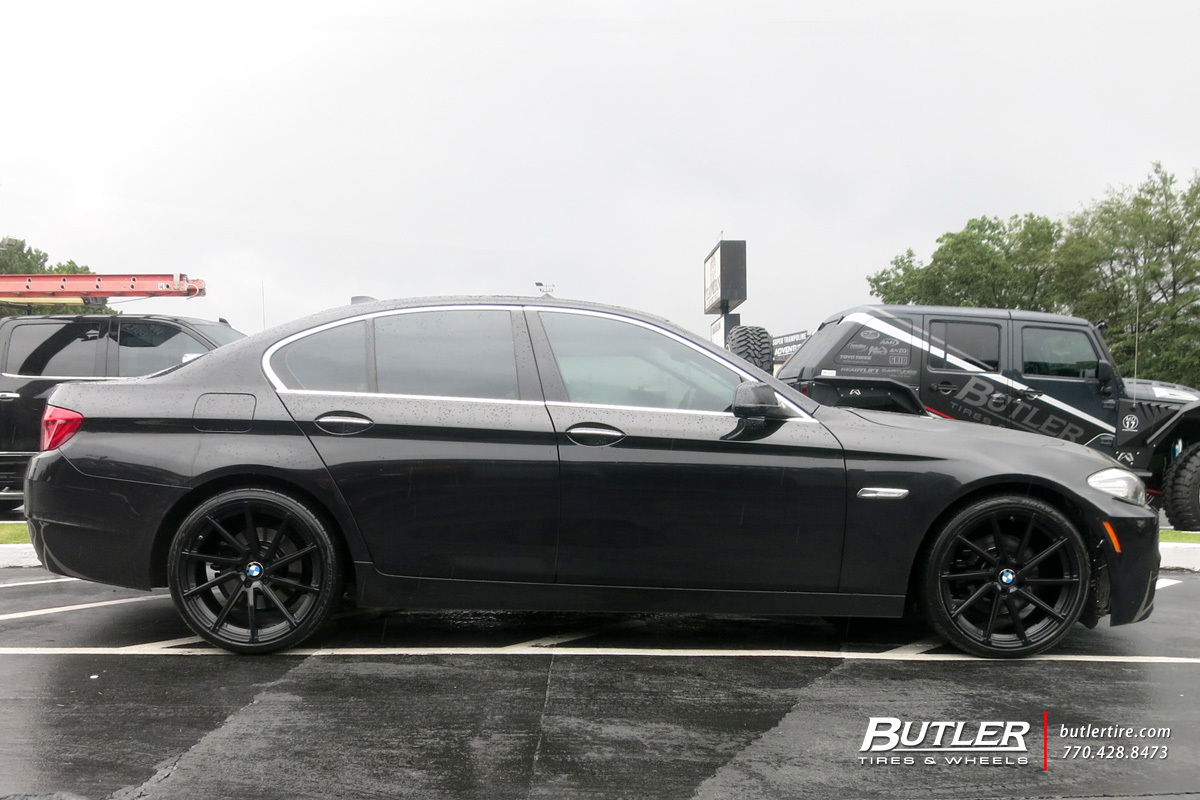 BMW 5 Series with 20in TSW Watkins Wheels