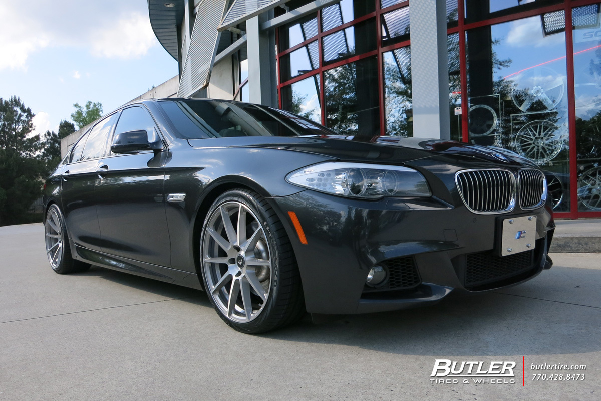 BMW 5 Series with 20in Vorsteiner V-FF 102 Wheels