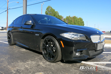 BMW 5 Series with 20in Vorsteiner V-FF 103 Wheels
