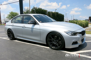 BMW 3 Series with 20in Vorsteiner V-FF 103 Wheels