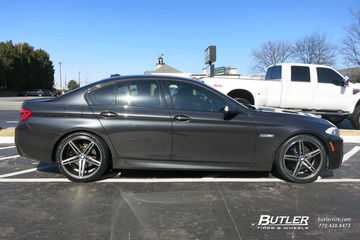 BMW 5 Series with 20in Vossen CV5 Wheels