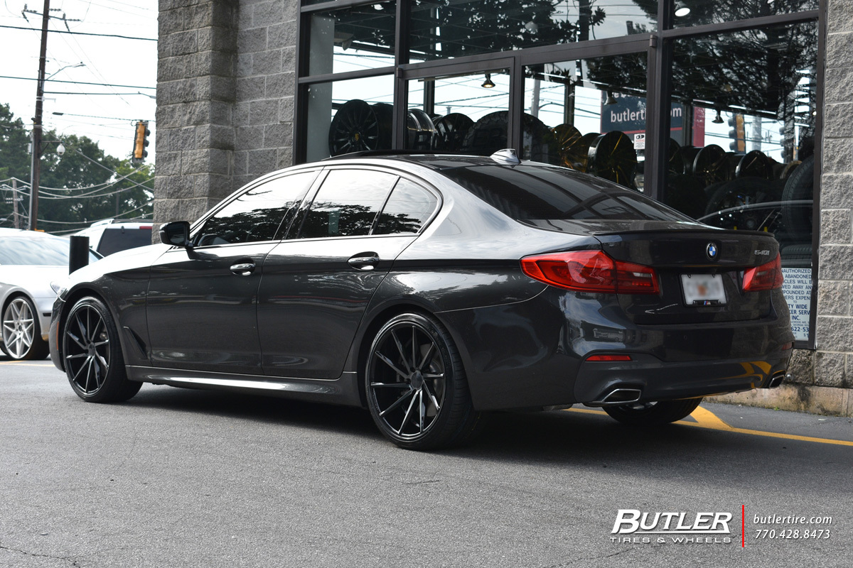 BMW 5 Series with 20in Vossen CVT Wheels