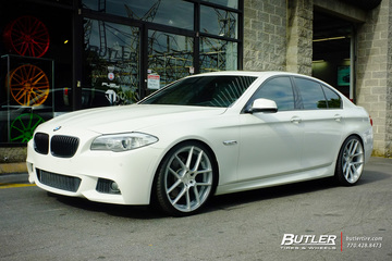 BMW 5 Series with 21in Avant Garde M510 Wheels