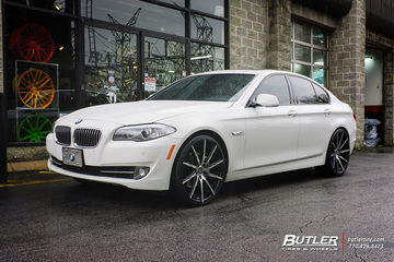 BMW 5 Series with 22in Lexani CSS15 Wheels