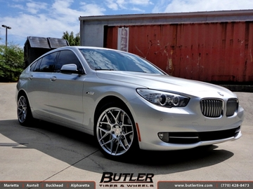 BMW 5 Series GT with 20in HRE FF01 Wheels