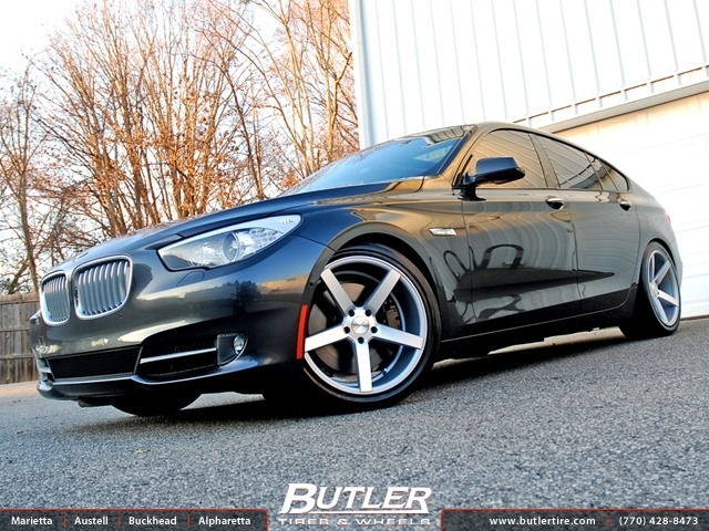BMW 5 Series GT with 20in Vossen CV3 Wheels