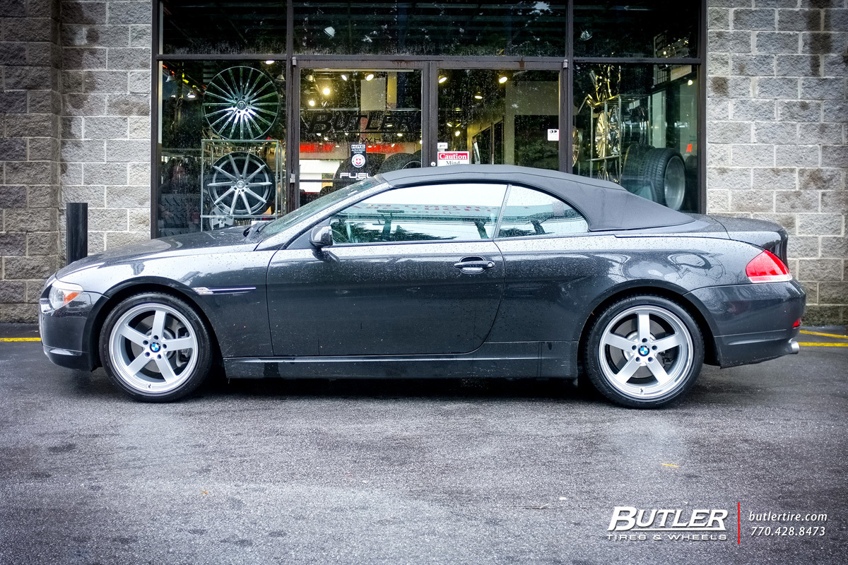 BMW 6 Series with 19in Beyern Rapp Wheels