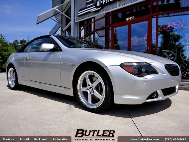 BMW 6 Series with 19in TSW Carthage Wheels