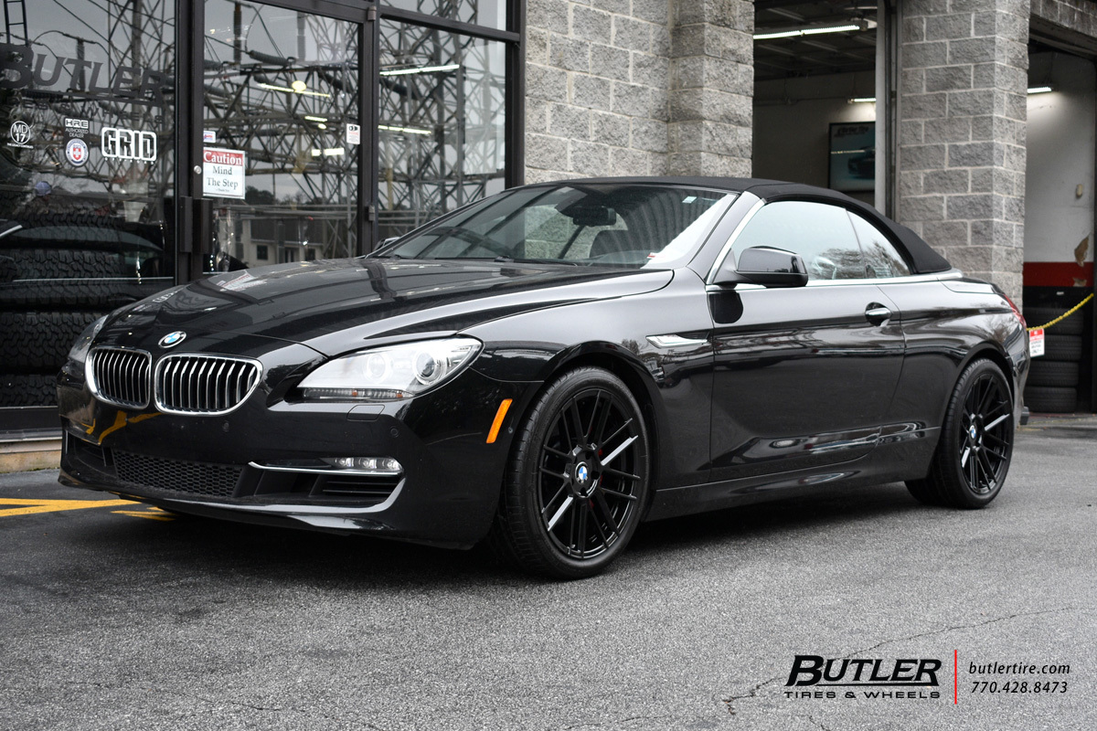 BMW 6 Series with 19in TSW Mosport Wheels