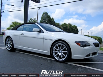 BMW 6 Series with 20in Beyern Bavaria Wheels