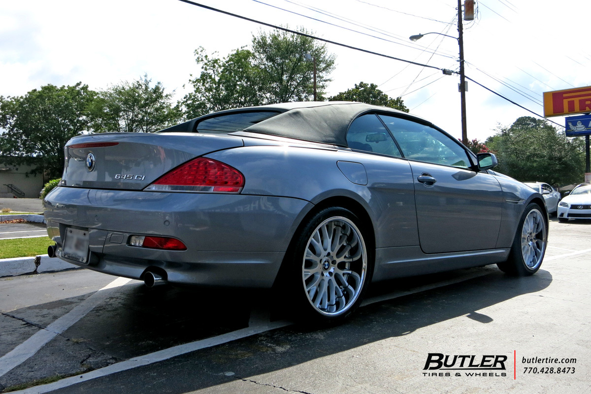 BMW 6 Series with 20in Beyern Munich Wheels