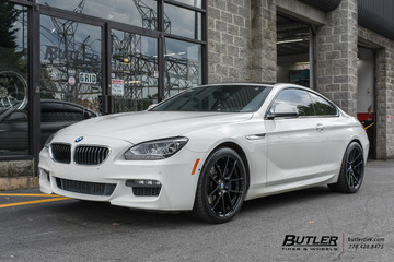 BMW 6 Series with 20in Beyern Ritz Wheels