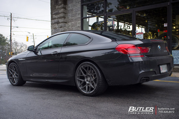 BMW 6 Series with 20in HRE FF01 Wheels