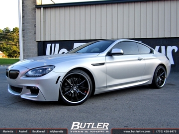 BMW 6 Series with 20in Lexani R-Twelve Wheels