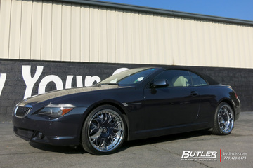 BMW 6 Series with 20in Savini Ancona Wheels