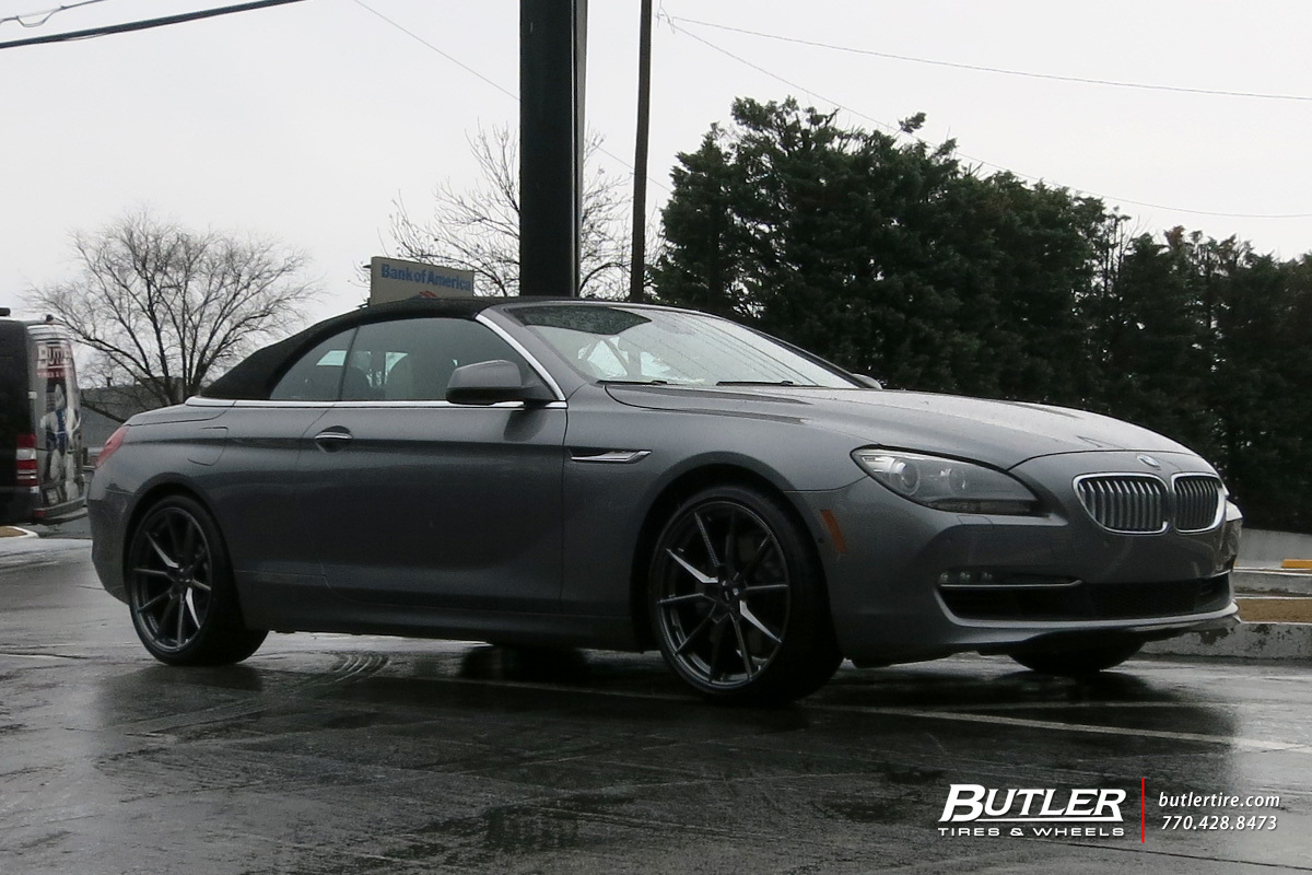 BMW 6 Series with 20in Savini SV-F4 Wheels