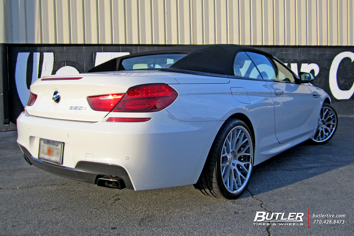BMW 6 Series with 20in TSW Amaroo Wheels