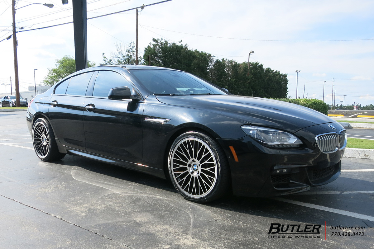 BMW 6 Series with 20in TSW Casino Wheels