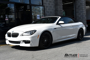 BMW 6 Series with 20in TSW Luco Wheels