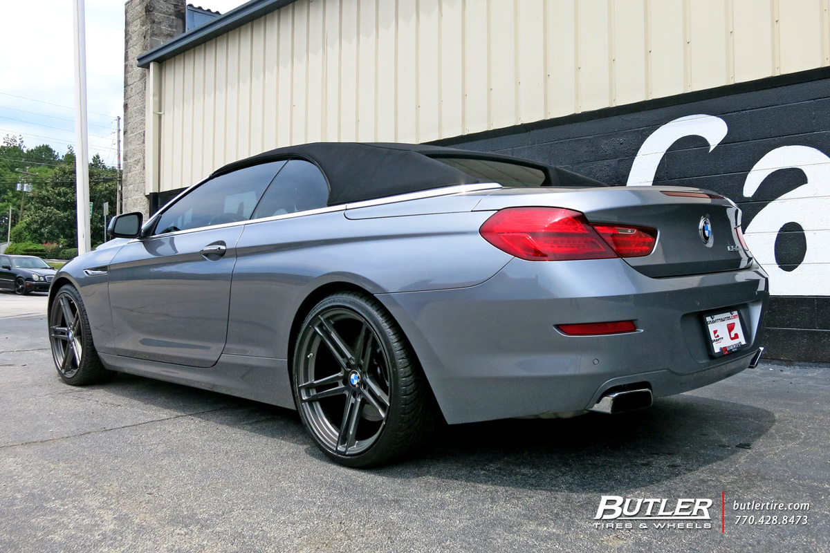 BMW 6 Series with 20in TSW Mechanica Wheels