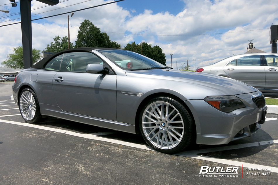 Bmw 6 Series With 20in Tsw Parabolica Wheels Exclusively