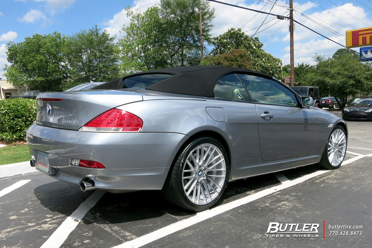 BMW 6 Series with 20in TSW Parabolica Wheels