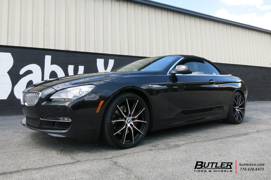 BMW 6 Series with 20in TSW Sprint Wheels exclusively from ...