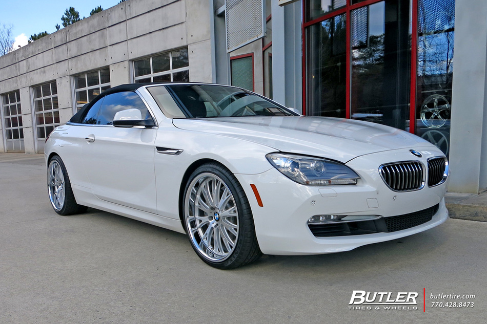 Bmw 6 Series With 21in Tsw Monaco Wheels Exclusively From
