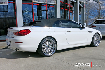 BMW 6 Series with 21in TSW Monaco Wheels