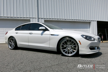 BMW 6 Series with 21in Vossen ML-X3 Wheels