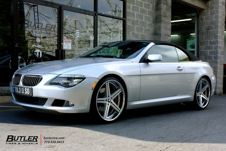 Bmw 6 Series With 22in Tsw Mirabeau Wheels Exclusively