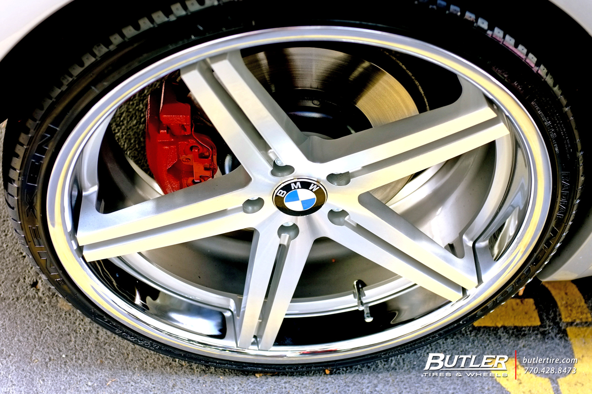 BMW 6 Series with 22 TSW Mirabeau Wheels
