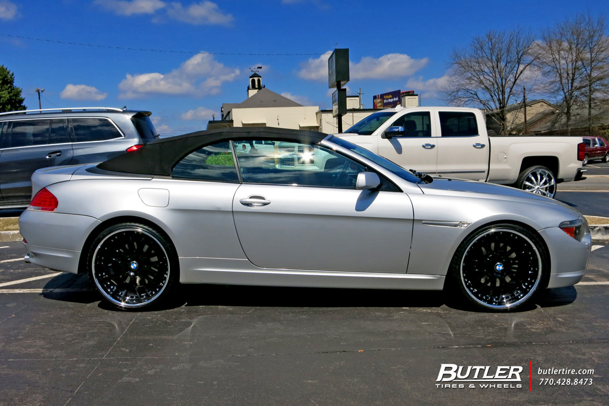 BMW 6 Series with 22in Beyern Henne Wheels
