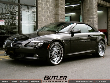 BMW 6 Series with 22in Beyern Multi Wheels