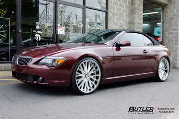BMW 6 Series with 22in Beyern Munich Wheels