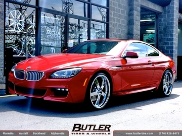 BMW 6 Series with 22in Beyern Rapp Wheels