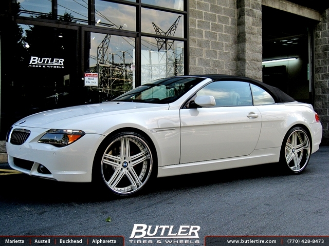 Bmw 6 Series With 22in Dub Type 11 Wheels Exclusively From