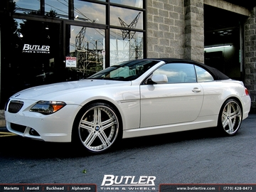 BMW 6 Series with 22in DUB Type 11 Wheels
