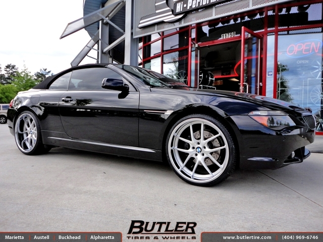 BMW 6 Series with 22in DUB Type 45 Wheels