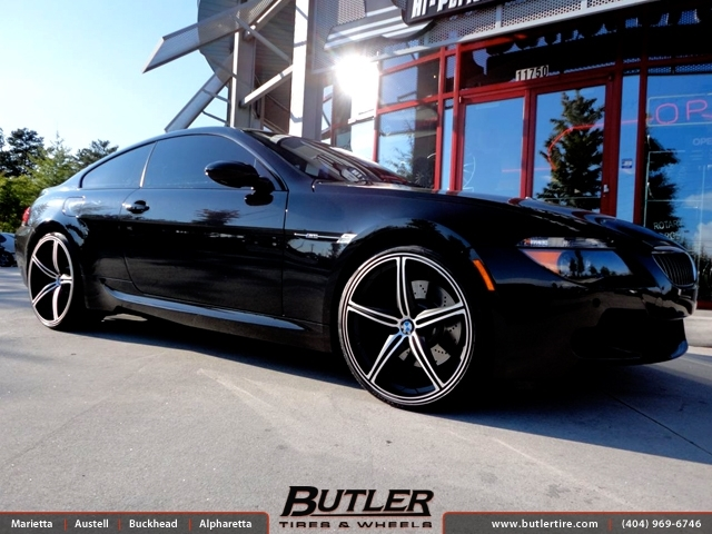 BMW 6 Series with 22in Foose Speed Wheels