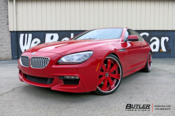 BMW 6 Series with 22in Forgiato Otto Wheels