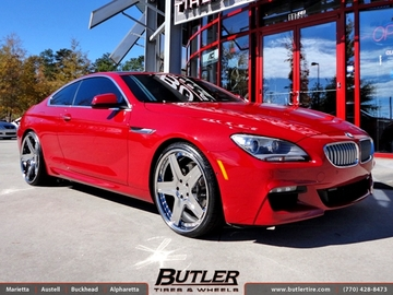 BMW 6 Series with 22in Giovanna Dramadio Wheels