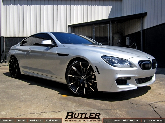 BMW 6 Series with 22in Lexani CSS15 Wheels exclusively from Butler ...