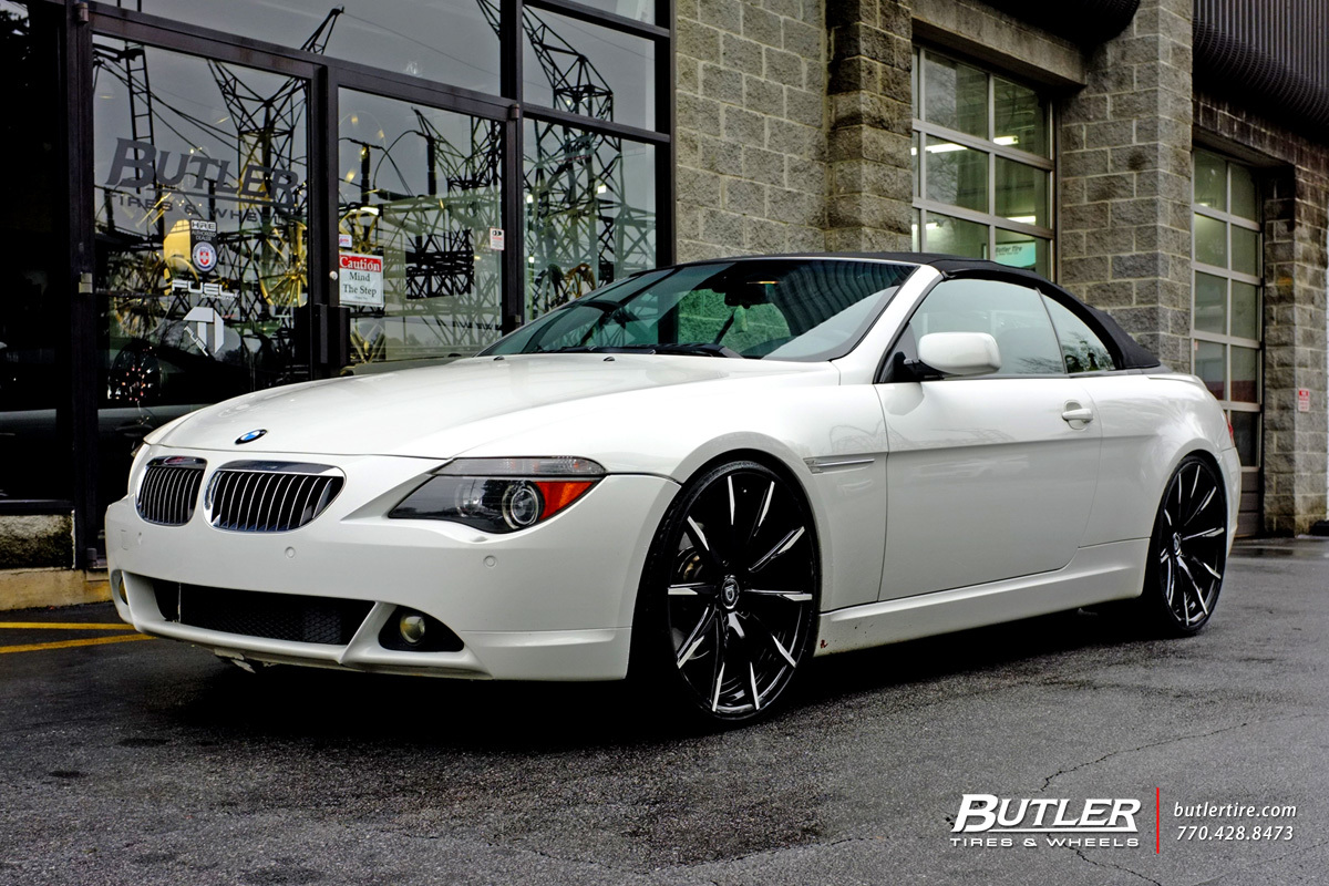 BMW 6 Series with 22in Lexani CSS15 Wheels