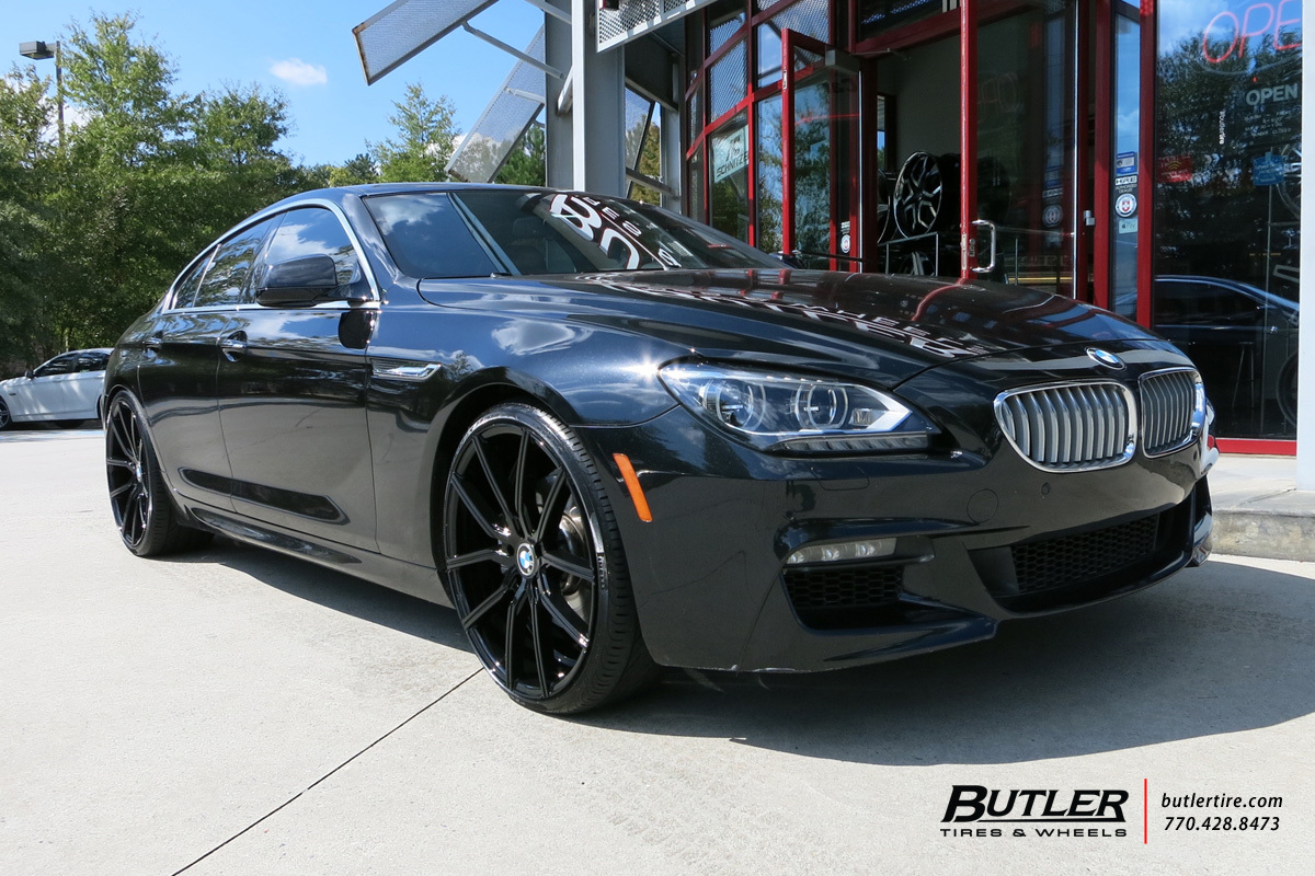 BMW 6 Series with 22in Lexani Gravity Wheels