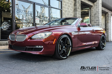 BMW 6 Series with 22in Lexani Invictus Wheels